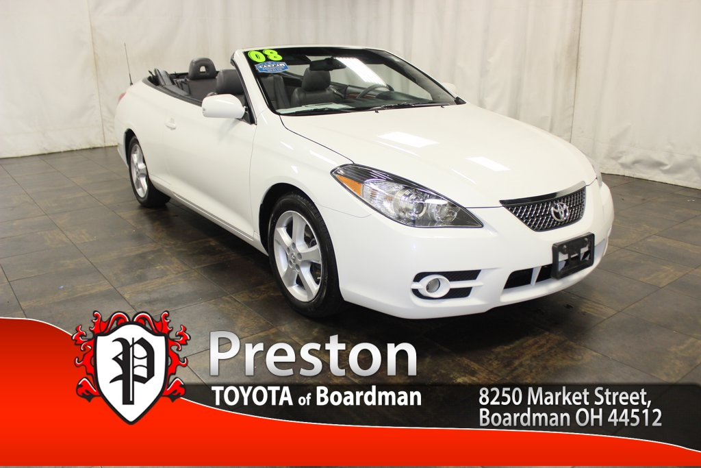 pre owned 2008 toyota camry solara sle 2d convertible in boardman t17066a toyota of boardman. Black Bedroom Furniture Sets. Home Design Ideas